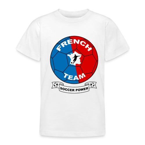T-shirt french team (football) - Teenage T-Shirt
