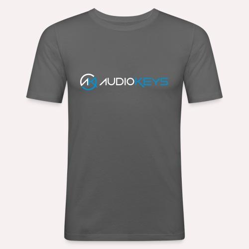 Tee-Shirt avec logo et texte AudioKeys 2018 - T-shirt près du corps Homme