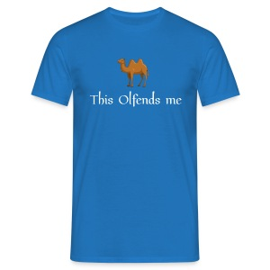 This olfends me man's t-shirt - Men's T-Shirt
