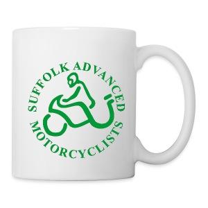 SAM Mug with Logo (Green) - Mug