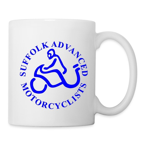 SAM Mug with Logo (Blue) - Mug