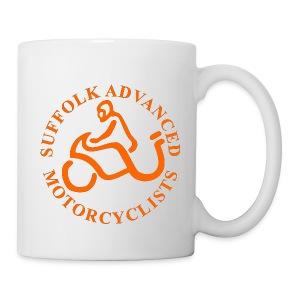 SAM Mug with Logo (Orange) - Mug