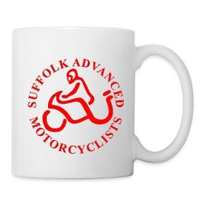 SAM Mug with Logo (Red) - Mug