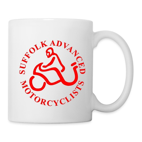 SAM Mug with Logo (Red) - Mug