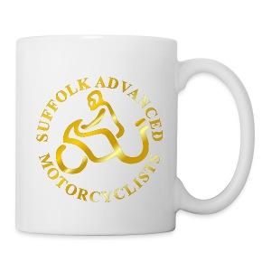 SAM Mug with Logo (Gold) - Mug
