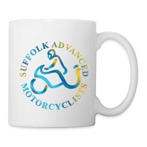 SAM Mug with Logo (Rainbow) - Mug