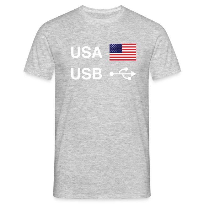 USA vs USB (Dark Colours)