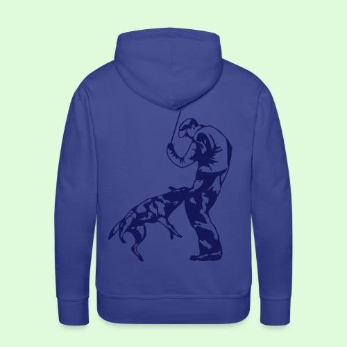 Mordant sportif - Sweat-shirt à capuche Premium pour hommes