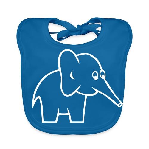 du petit babero elefant - Babero ecológico bebé