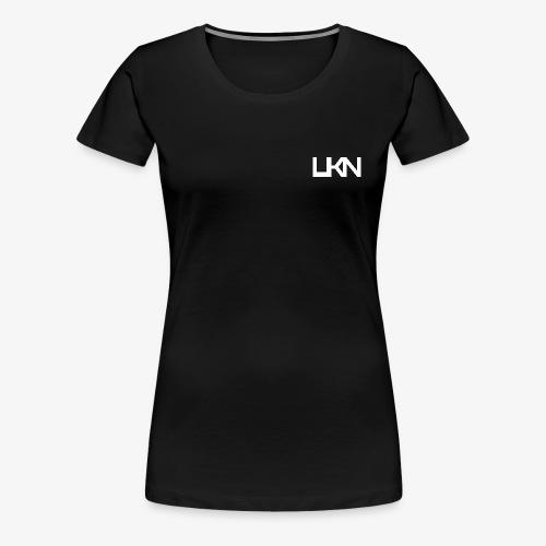 UKN White Logo Women's T-Shirt - Women's Premium T-Shirt