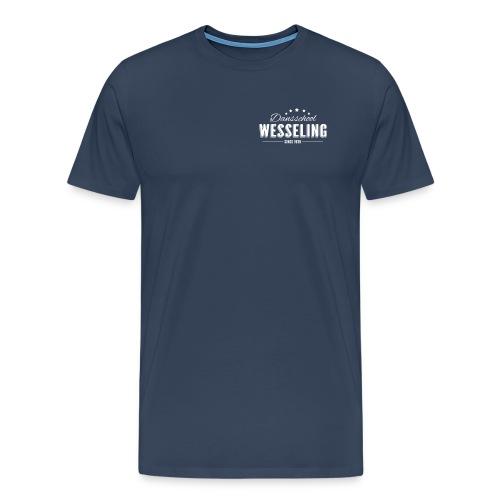 T-shirt met logo op borst - Mannen Premium T-shirt