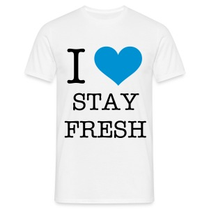 IheartStayFresh - Men's T-Shirt