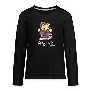 RapBär Sweatshirt | for Kids - Teenager Premium Langarmshirt