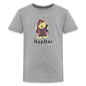 RapBär T-Shirt | for Kids - preiswert - Teenager Premium T-Shirt