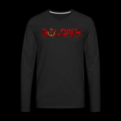 Soldier of the Strike Force Men's Longsleeve - Men's Premium Longsleeve Shirt