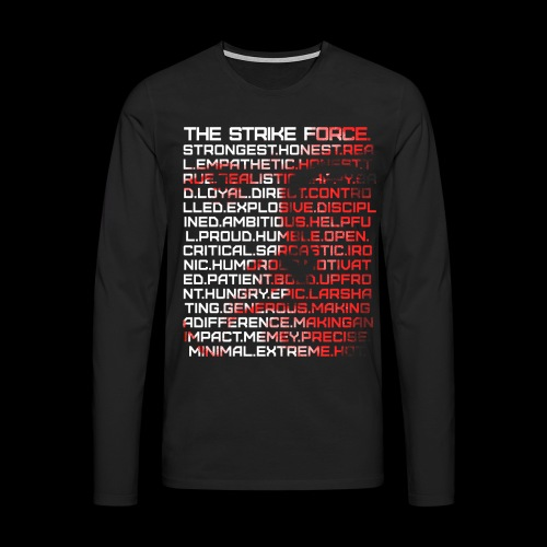 Force of many Faces Men's Longsleeve - Men's Premium Longsleeve Shirt