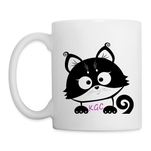 White Kitty´s Game corner mug - 2018 EDITION - Mug