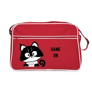 Red Kitty´s Game Corner retro bag. - Retro Bag