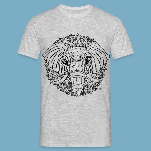 Elephant shirt men - Männer T-Shirt