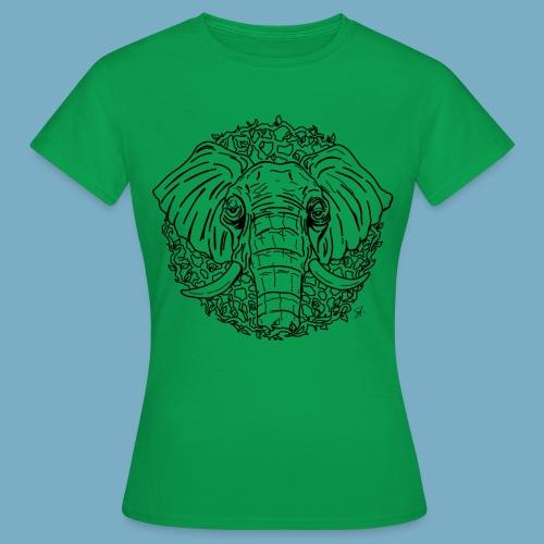Elephant shirt woman - Frauen T-Shirt