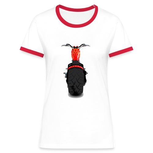 Chopper large - T-shirt contrasté Femme