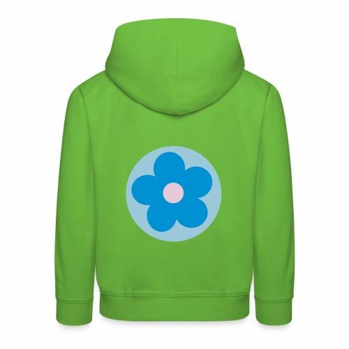 Kinder-Hoodie mit Blume - Kinder Premium Hoodie