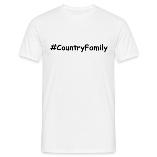 #CountryFamily Men's T-Shirt - Men's T-Shirt
