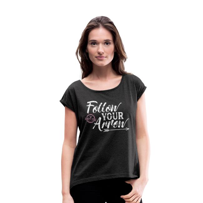 Follow Your Arrow Ladies Scoop Neck