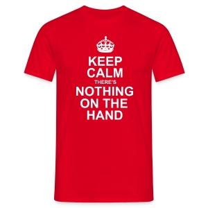 Keep Calm - heren - Mannen T-shirt