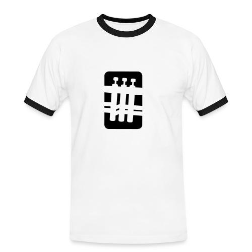 move air - Mannen contrastshirt
