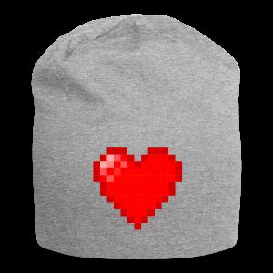 Pixel Heart Beanie - Jersey Beanie
