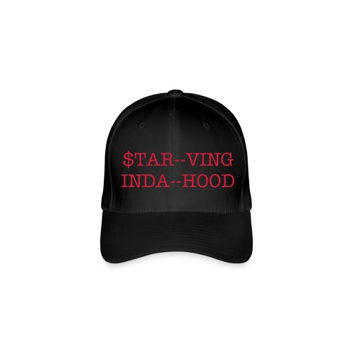 GIRLS STARVING INDA HOOD CAP - Flexfit Baseball Cap