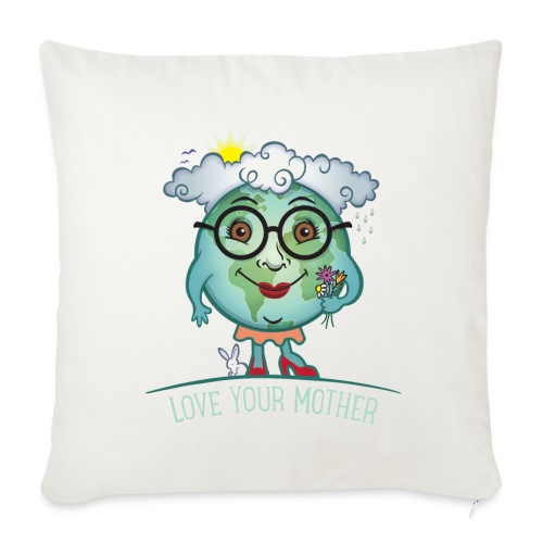 Mother Earth / Love - Sofa pillow cover 44 x 44 cm