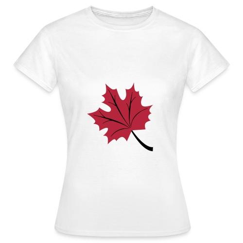 Keltisches Horoskop - Der Ahorn - Frauen T-Shirt