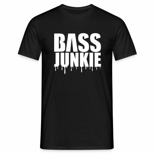 Bassjunkie - T-Shirt - Männer T-Shirt