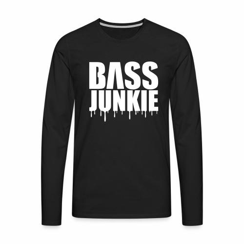 Bassjunkie - langarm Shirt - Männer Premium Langarmshirt