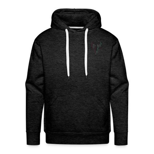 Men's T-Back Hoodie - Men's Premium Hoodie