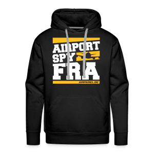 Airport Spy FRA (Free Choice of Colors) - Men's Premium Hoodie