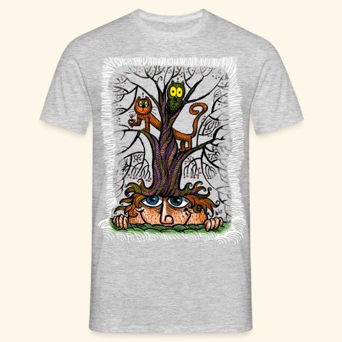 tree of frinedship t-shirt - Männer T-Shirt