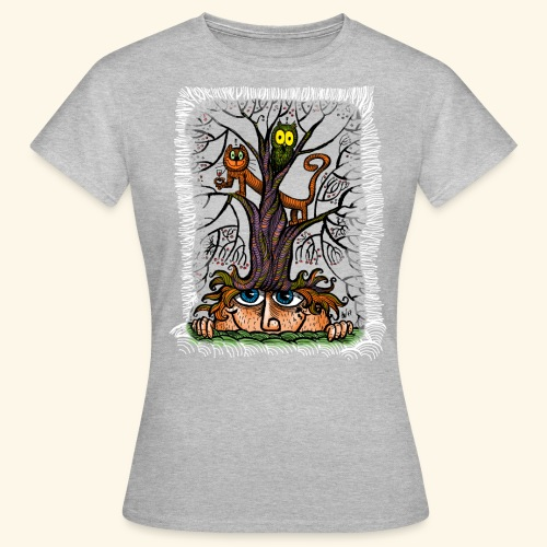 tree of frinedship t-shirt - Frauen T-Shirt