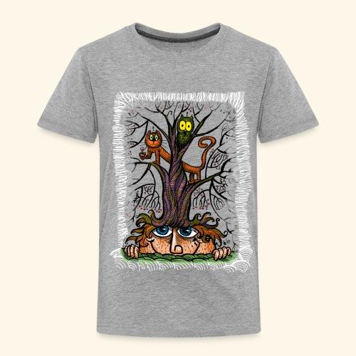 tree of frinedship t-shirt - Kinder Premium T-Shirt