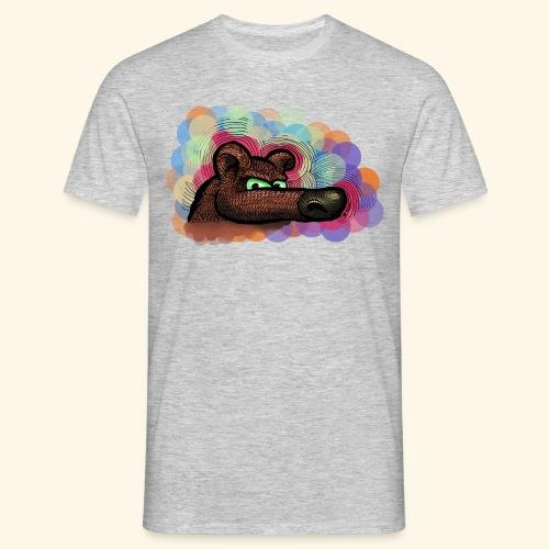 bubbles bear t-shirt - Männer T-Shirt