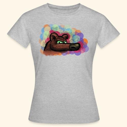 bubbles bear t-shirt - Frauen T-Shirt