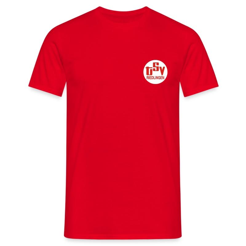 Männer Bassis-T-Shirt Rot TSV  - Männer T-Shirt