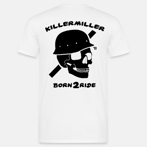 Born2Ride - Männer T-Shirt
