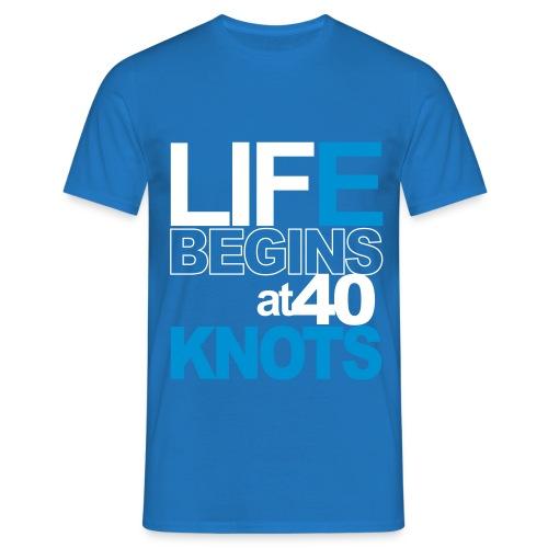 Life beginsat 40 knots  Hw LMV TM - T-shirt Homme