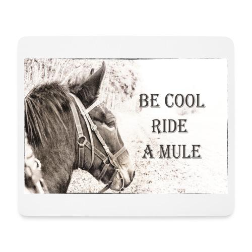 Mousepad Mule Riding - Mousepad (Querformat)