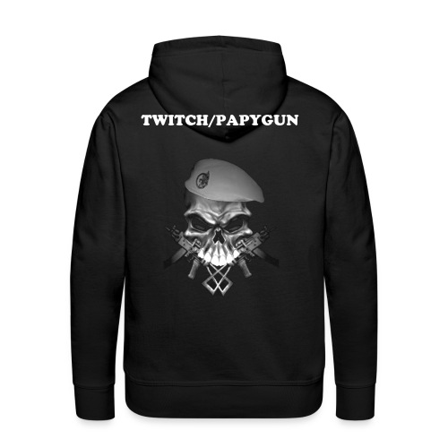 SWEAT PAPYFAMILY SKULL - Sweat-shirt à capuche Premium pour hommes