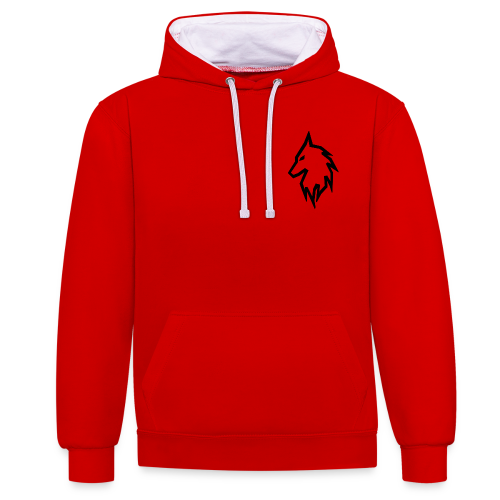 FUSIONZ-VLOGS SLEEVE - Contrast Colour Hoodie