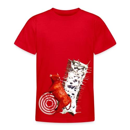 T-shirt børn, let out the bull. - Teenager-T-shirt